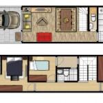 Modelos de casas de 4 metros de ancho