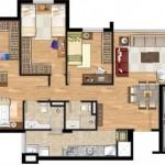 Modelos de casas de 90m2