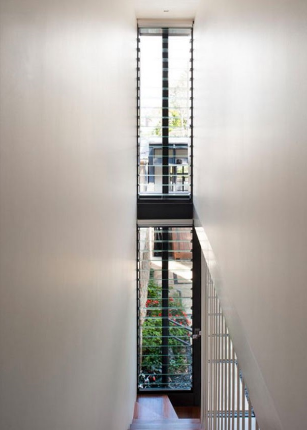 Diseño y distribución de casa larga