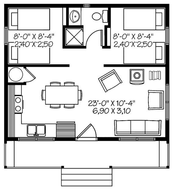 Modelos de casas chiquitas pero bonitas - Como alquilar un piso ...