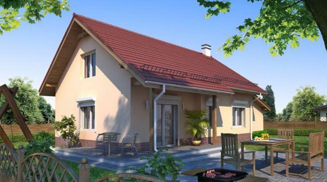 Diseños de casas pequeñas con medidas en metros