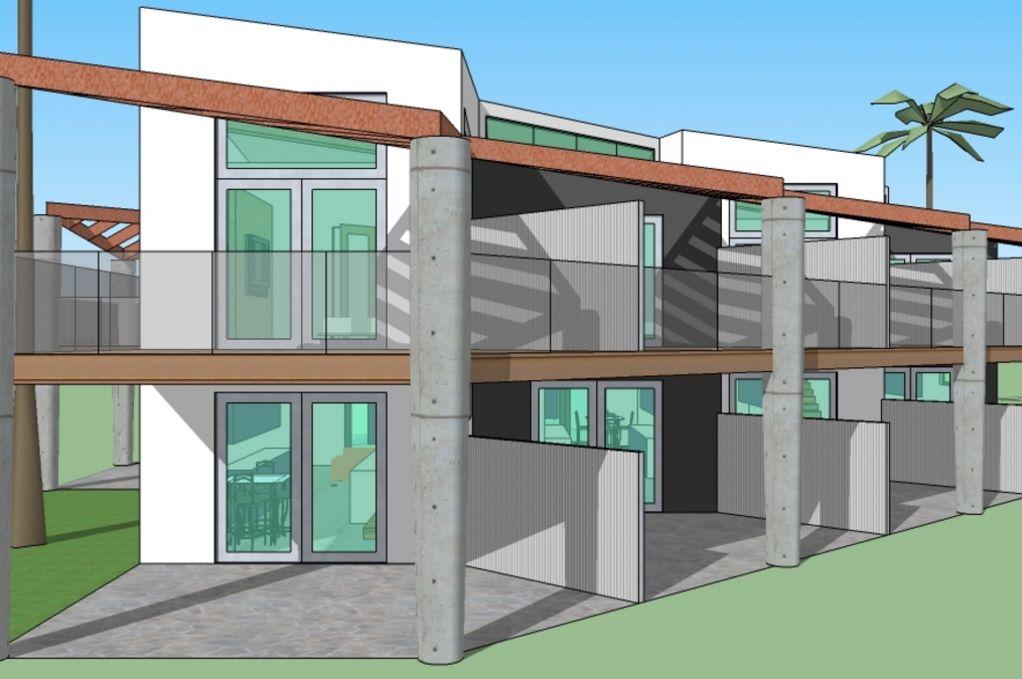 Duplex de dos dormitorios con planos