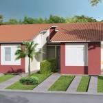 Fachadas de casas pequeñas 5 metros de frente