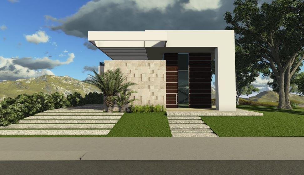 Fachadas de casas peque as 5 metros de frente for Frentes de casas 2016