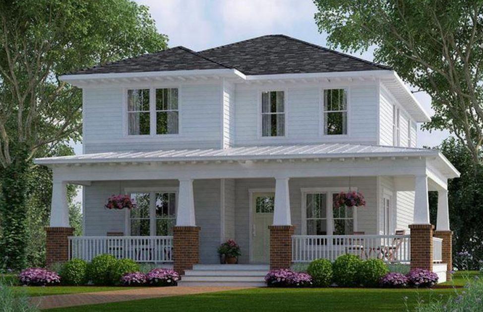 Planos de chalets de dos plantas plano de casa moderna de for Fachadas casas dos plantas