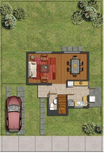 Disenos de casas campestres abiertas y con ventanales grandes for Modelos de piscinas campestres
