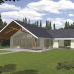 Modelos de casas de campo pequeñas