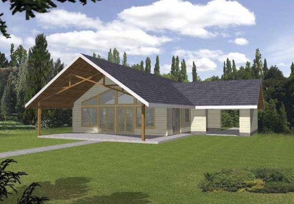 Modelos de casas de campo peque as for Modelos de casas rusticas de campo