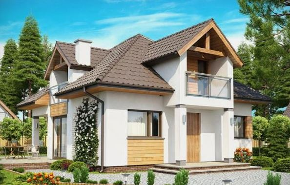 Modelos de casas de dos pisos modernas y sus planos