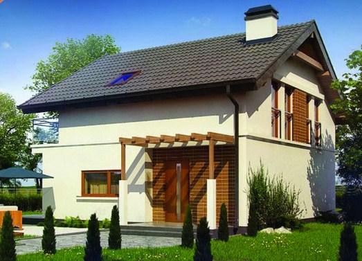 Modelos de casas de dos pisos sencillas  y bonitas