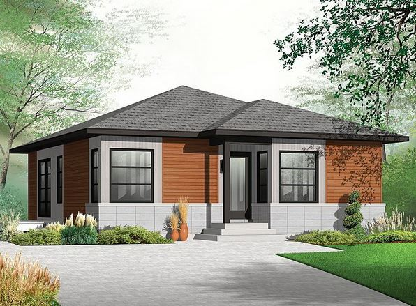 Imagenes de planos sencillos para casas de una planta for Modelos de casas de una planta modernas