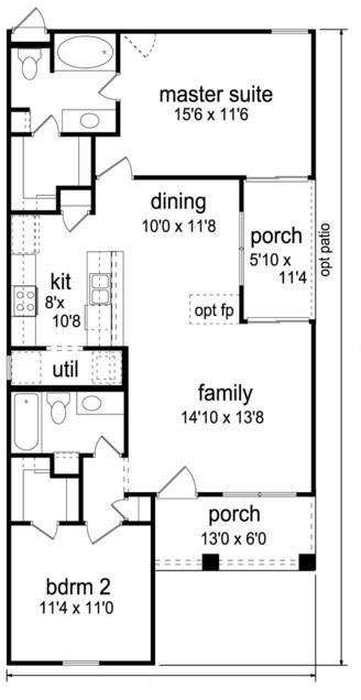 Planos de viviendas 6 x 12