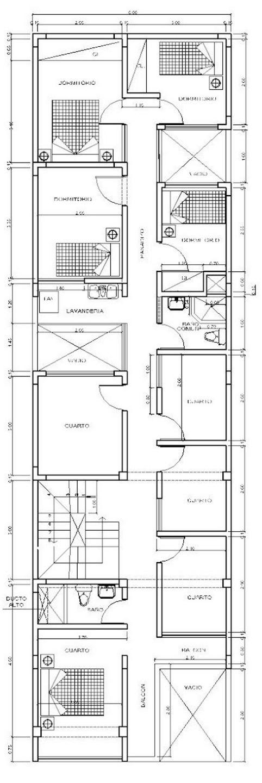 Planos gratis de casas 6×20
