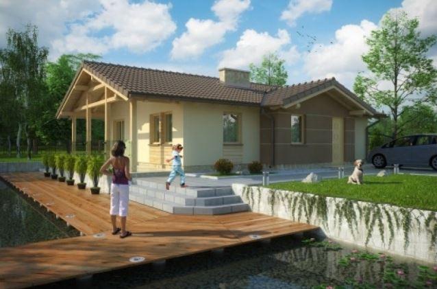 Planos sencillos para casas de una planta