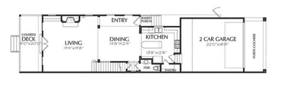 gratis de casas 6×20 2 pisos