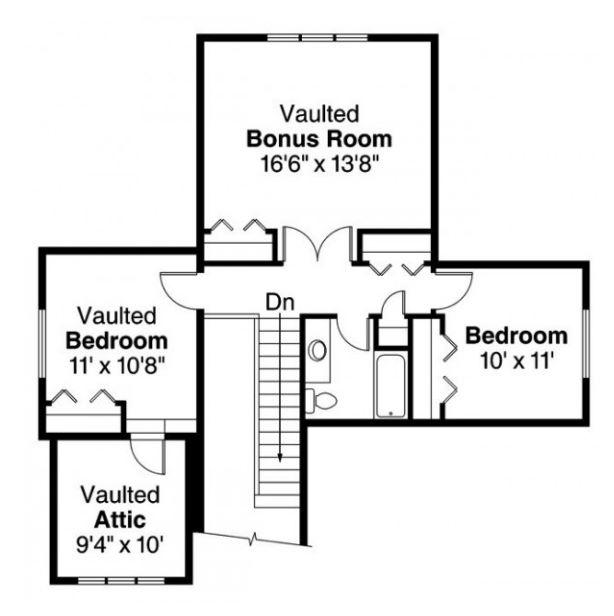 planos de casas de dos plantas con fachadas estilo americano gratis
