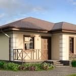 Casa economica de 6×6 planos y materiales