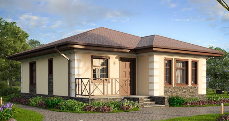 Casa economica de 6x6 planos con materiales
