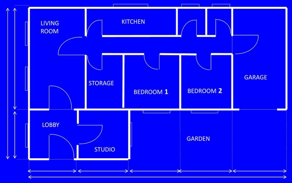 Como aprovechar terrenos rectangulares