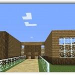 Como hacer una bonita casa paso a paso minecraft pocket edition
