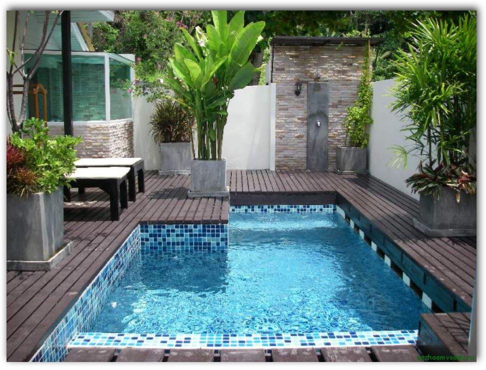Diseño de patio de 7 m