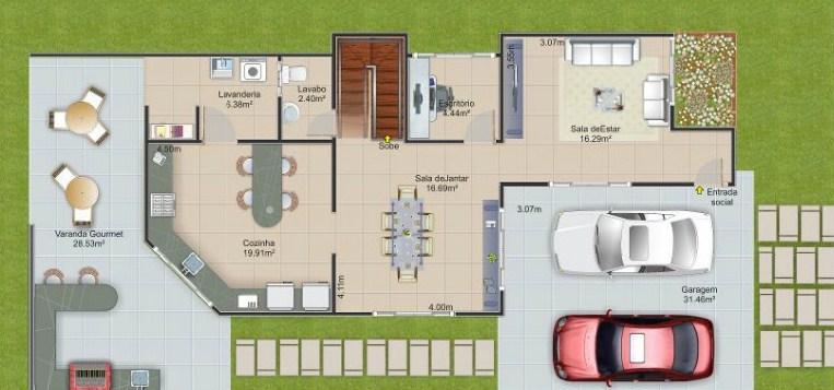 Diseños de casas de 8 x 20