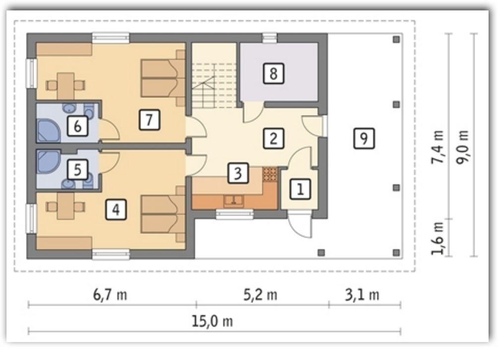 Diseños de cuartos para alquilar inversion
