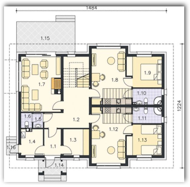 Diseños de cuartos para alquilar planos