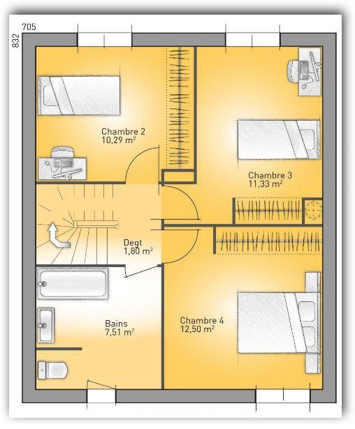 Fotos de casa de un solo piso de 140 m2