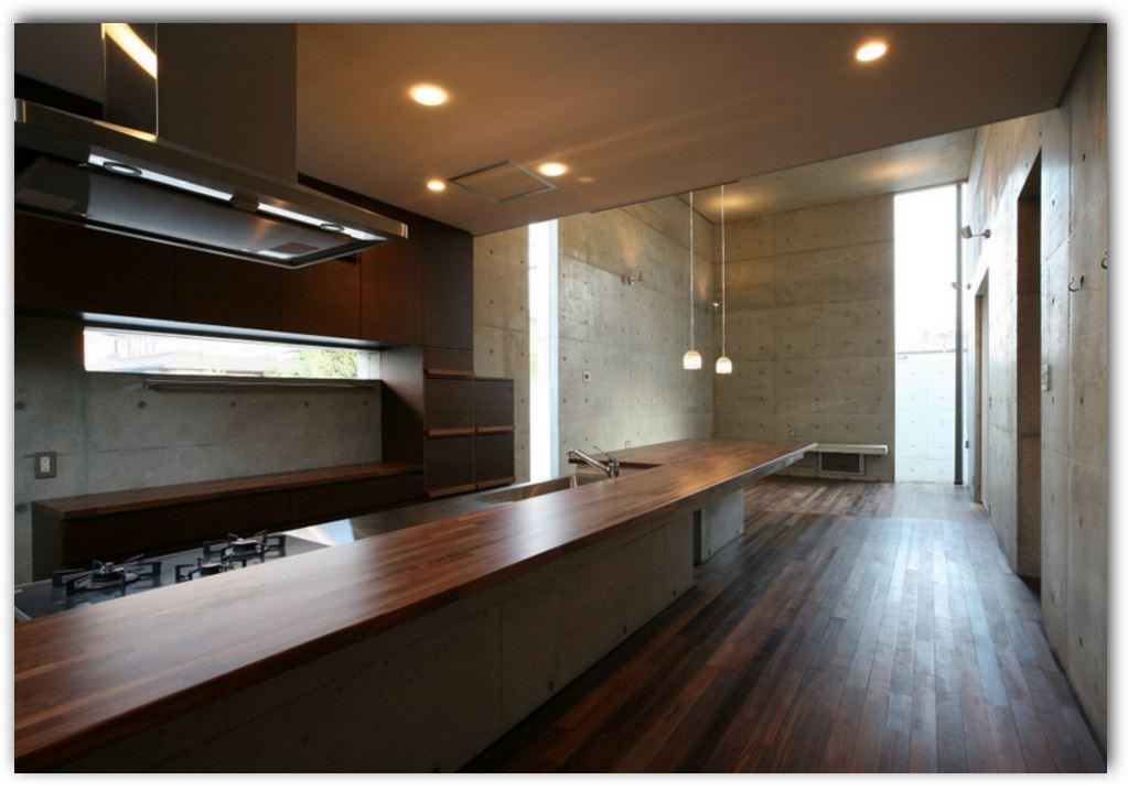 Interior de casas pequeñas de concreto