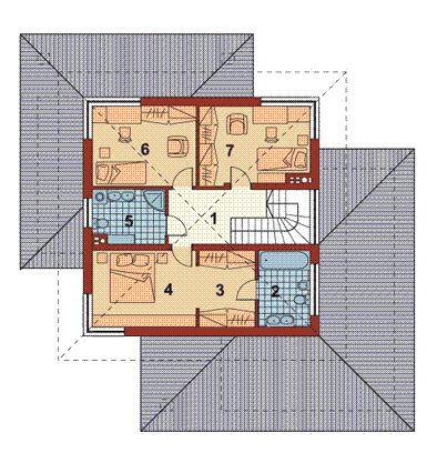 Modelos de casas de lujo de 2 pisos