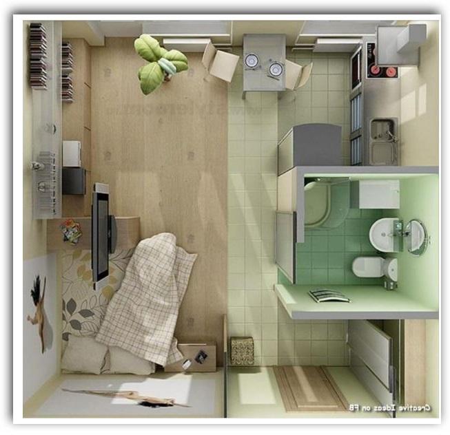 Modelos de casas económicas para finca de un solo espacio