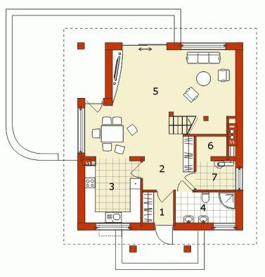 Planos de casas de 70m2 con 3 dormitorios
