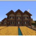Planos de casas de madera de dos plantas de minecraft