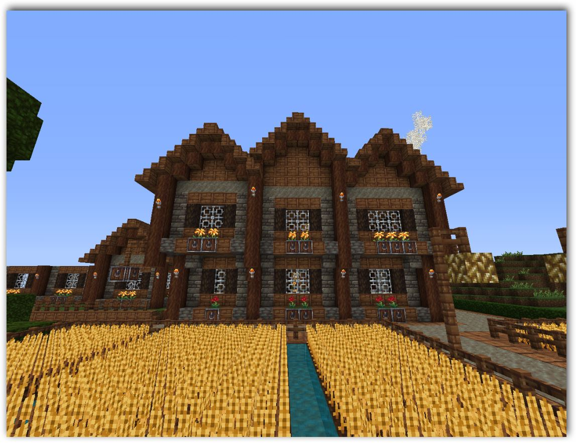Disenos de casa en minecraft planos de casas part 2 for Minecraft videos casas