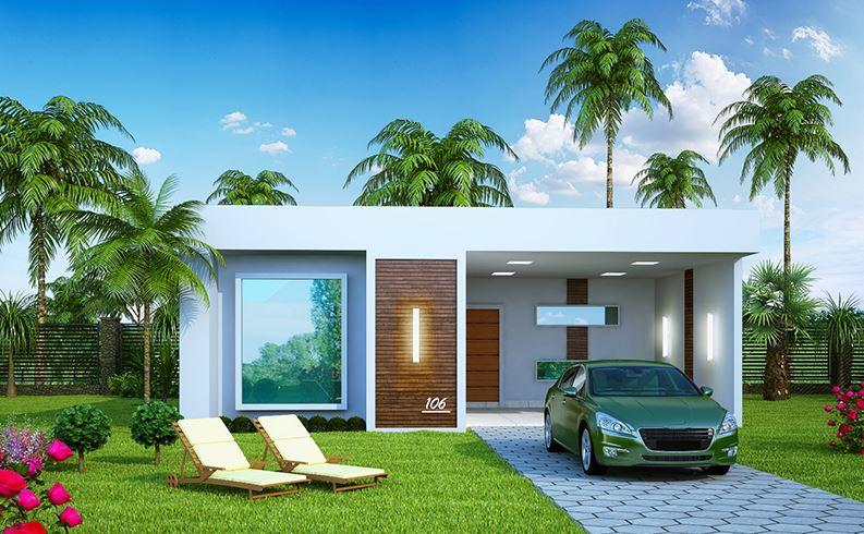 Planos de casas en 120 metros cuadrados de una planta