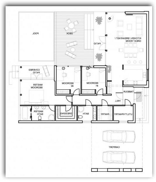 La mejor casa moderna de minecraft pe 3d - Crear planos casa ...