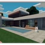 Planos para hacer una casa moderna en minecraft pe