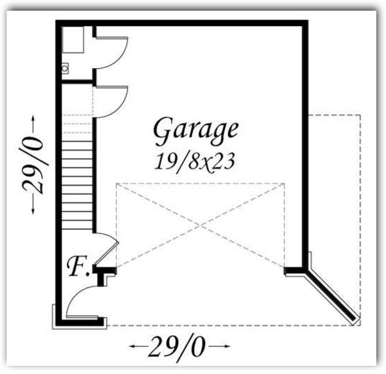 dos plantas en la primera planta tienda garaje cocina living comedor estudio baño y cuarto para visitas con medidas 90 metros cuadrados