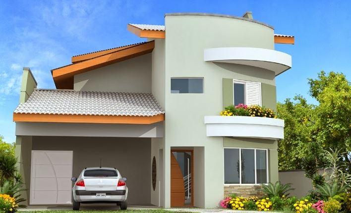 fachadas de casa con teja de dos plantas guatemala