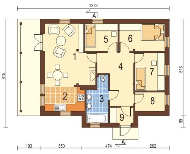 Planos de casas pequenas sencillas for Ver planos de casas pequenas