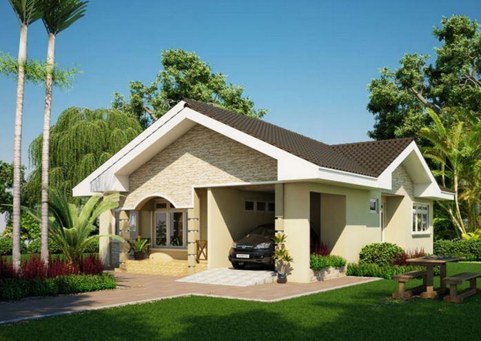 Planos de casas de 90 metros cuadrados