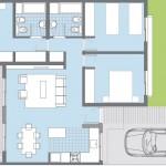 Planos de casas de dos plantas 120 m2 PDF