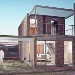 Modelos de casas sencillas para construir de dos pisos