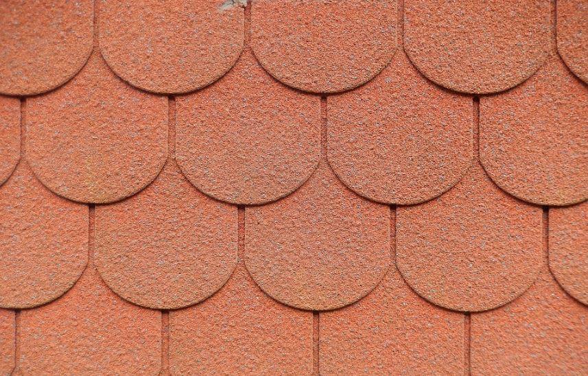 Diseño de tejas bonitas asfalticas