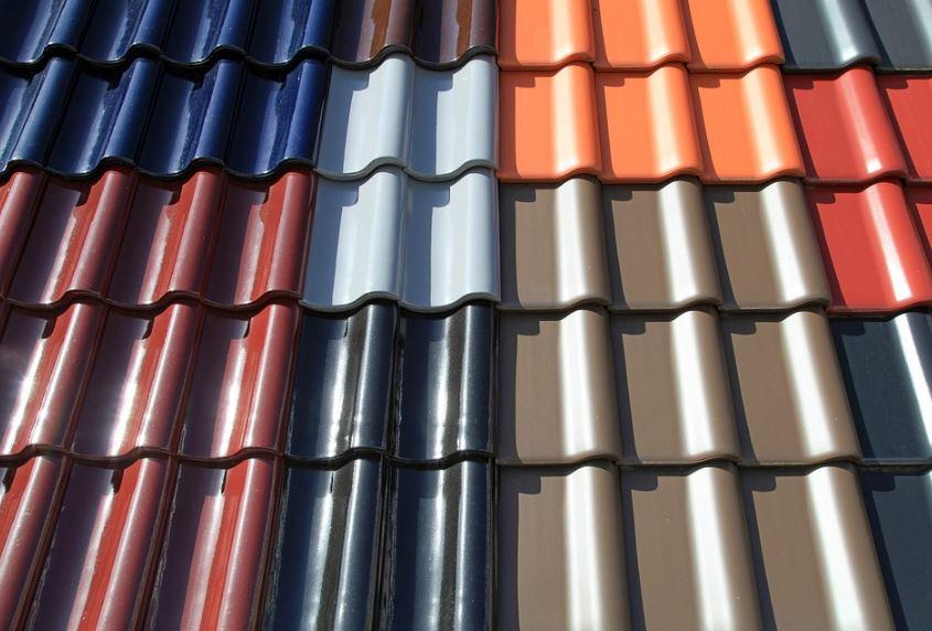 Diseño de tejas bonitas