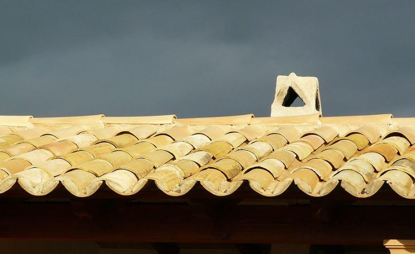 Diseño de tejas coloniales