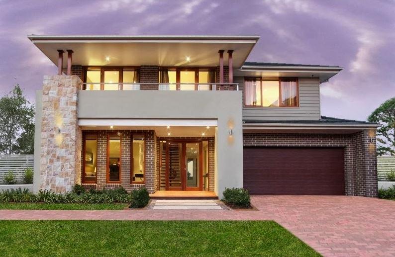 Fachadas residenciales de entradas principales 2016