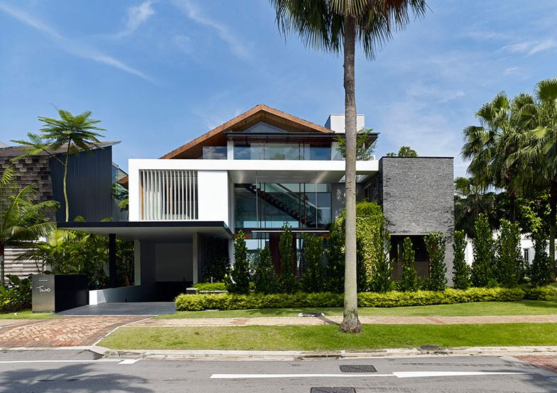 Fachadas residenciales de entradas principales 2017