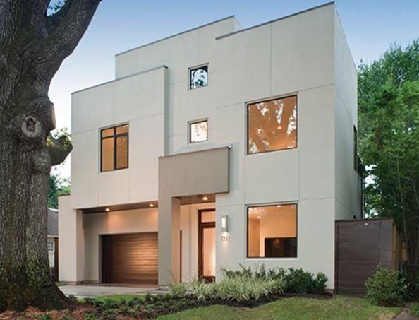Fachadas residenciales minimalistas